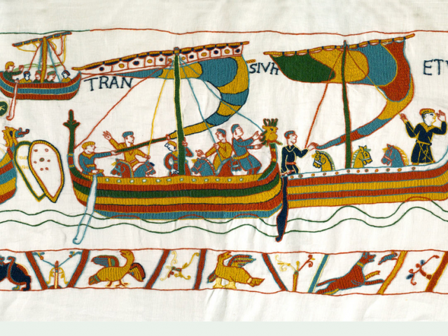 Scroll through the finished tapestry