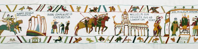 Ending to the Bayeux Tapestry