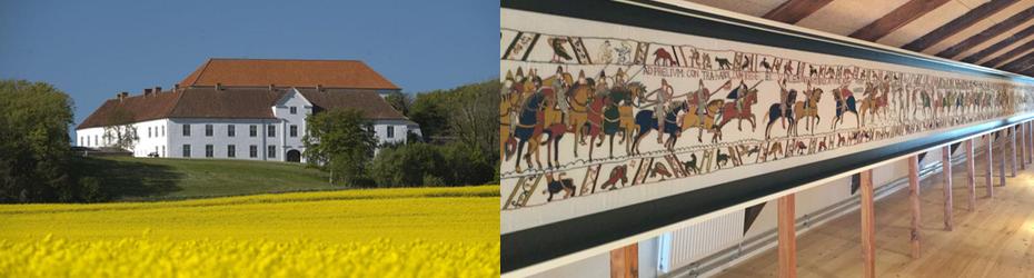 Ausstellung im Kloster Børglum