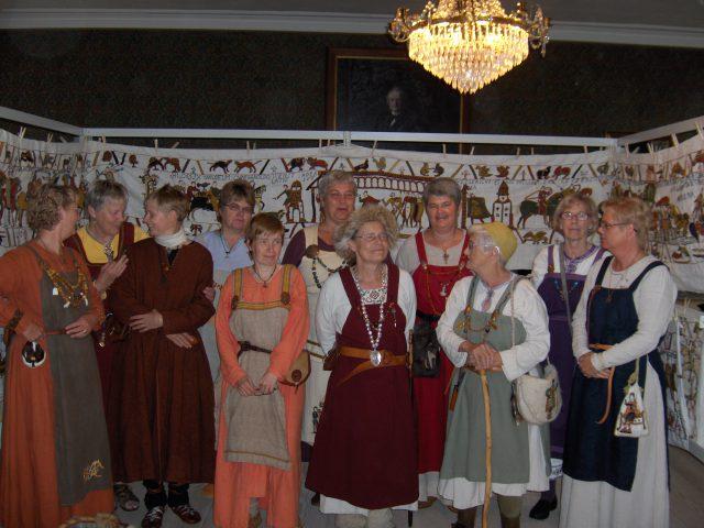 Besuch in Sæbygård 2008.